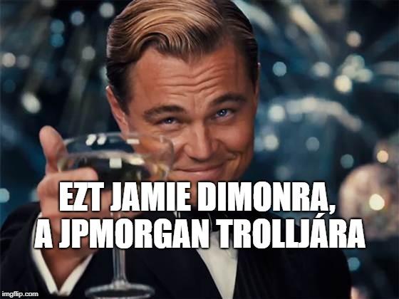Jamie Dimon pálfordulása: jön a JPMorgan Chase saját kriptovalutája