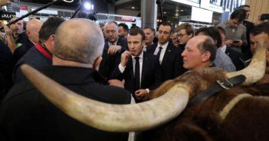mezőgazdaság blokklánc Macron