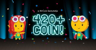 MrCoin - 420 új kereskedhető altcoin a MrCoin tőzsdén