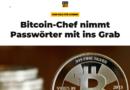 Mainstream média: A Bitcoin főnöke meghalt, és a magával vitte a sírba a jelszót