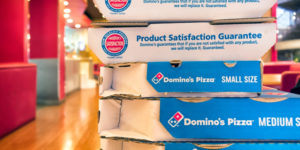 Domino pizza bitcoinért