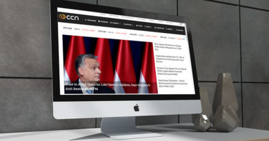 Orbán Viktor a CCN híroldalon