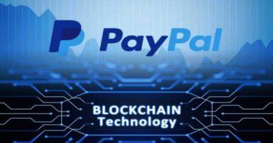 PayPal blokklánc befektetése