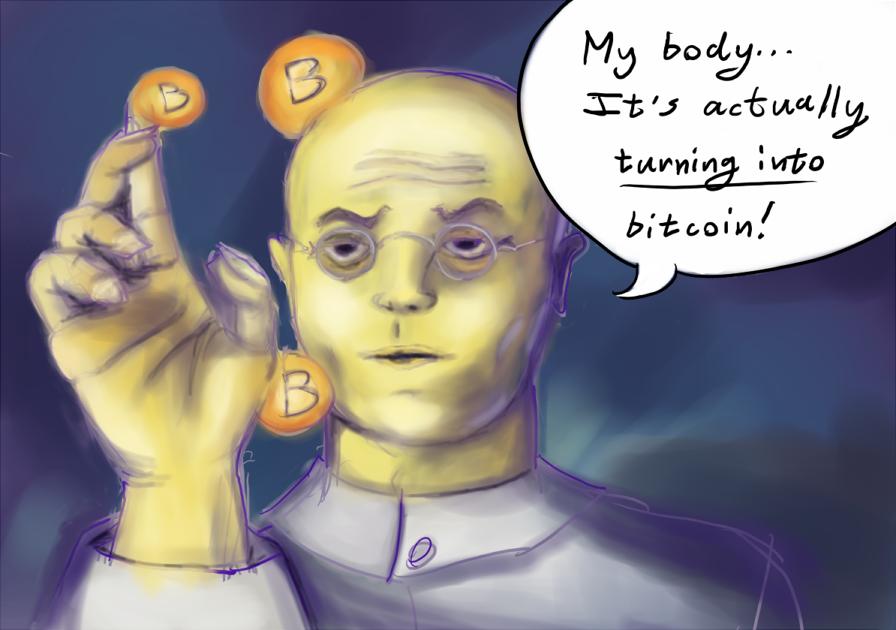 bitcoin demonetizáció