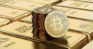Csúcson a bitcoin és arany közötti negatív korreláció