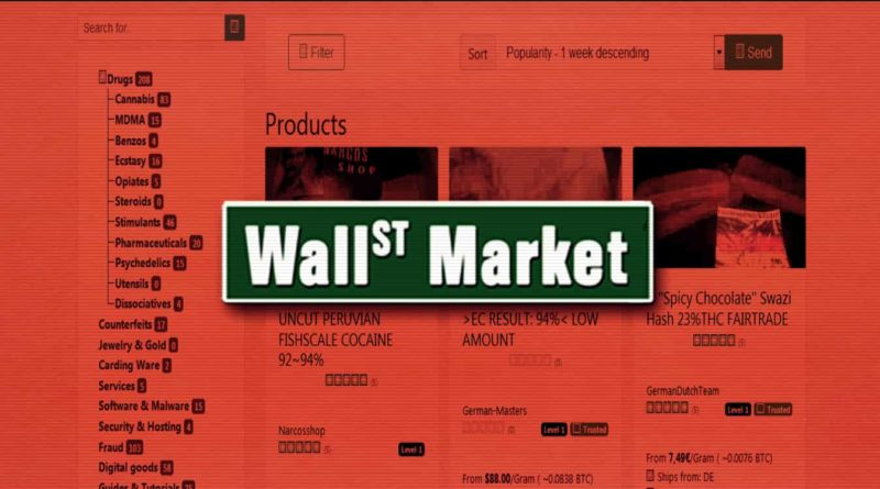 Lecsaptak a darknetes Wall Street Market adminjaira