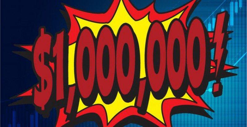 Őrült előrejelzés 1 millió dolláros bitcoin árat jósol