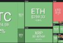 Zöldben a vezető kriptovaluták, 8100 dollárig futott a bitcoin