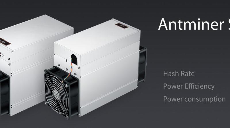 Új Antminer S9 Bitcoin ASIC bányászt dobott piacra a Bitmain