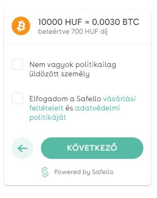 Olcsó bitcoin vásárlás