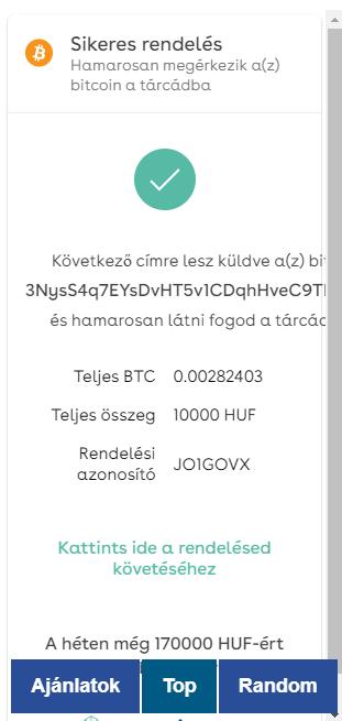 Bitcoin vásárlás bankkártyával