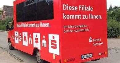 Sorra zárnak be a bankfiókok Németországban