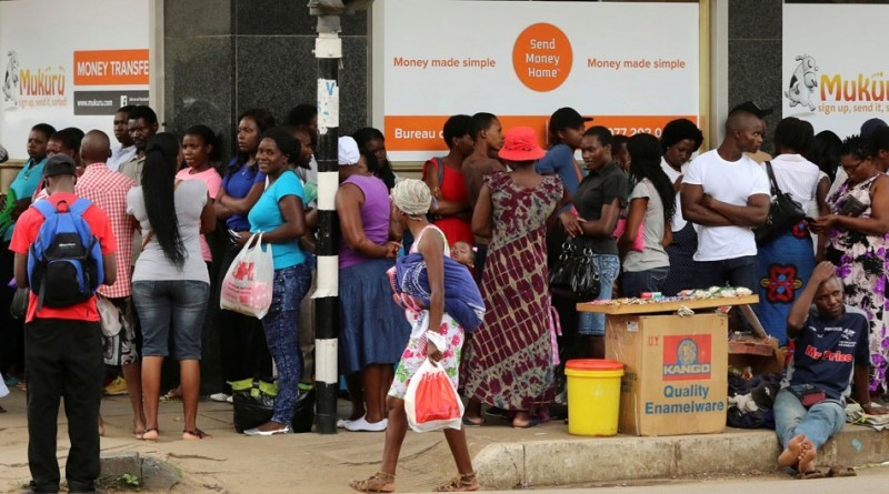 Zimbabwe bitcoinláz zollár