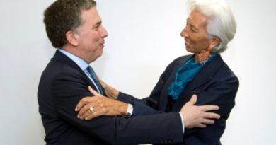 Mauricio Macri és Christine Lagarde