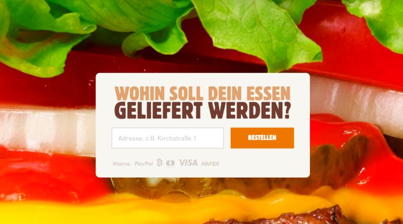 A német Burger King már bitcoinért is házhoz viszi a menüdet