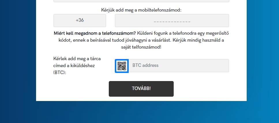 bitcoin kód regisztráció mi az a bináris opciós robot