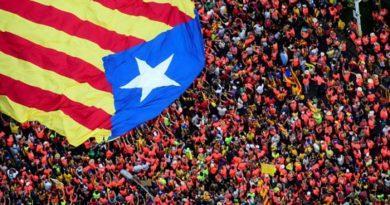 katalán tüntetők