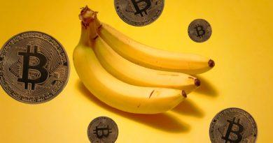 Banán bitcoin