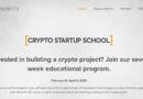 kriptós startupoknak tanfolyam