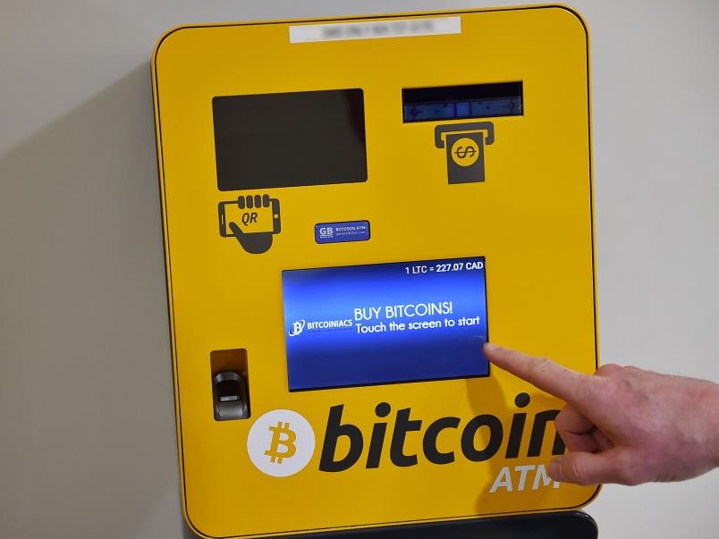 bitcoin ATM Svájcban