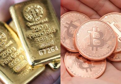 Az arany ára 9 éves rekordot döntött, mi lesz veled bitcoin?