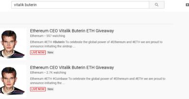 A YouTube elismerte, hibázott a kriptós vloggerek tartalmainak letiltásával miközben egy Ethereum átverés fut rajta