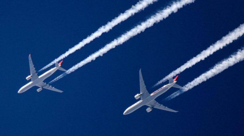 Légiközlekedés szén-dioxid kibocsátás csökkentése Ethereum