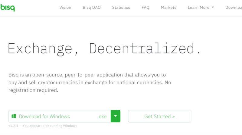 A Bisq decentralizált Bitcoin váltó hetente több milliós forgalmat bonyolít
