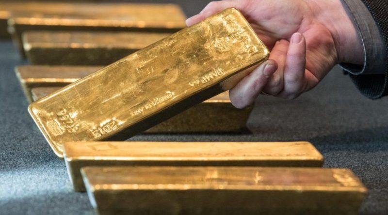 központi bankok arany
