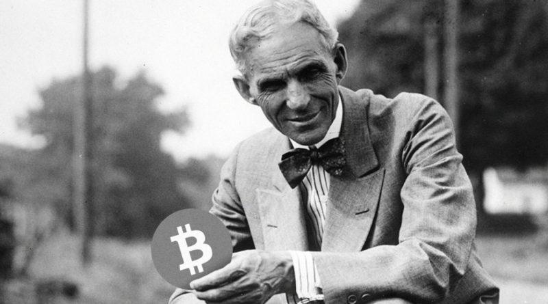 Henry Ford energia valuta ötlete és a bitcoin közötti összefüggések