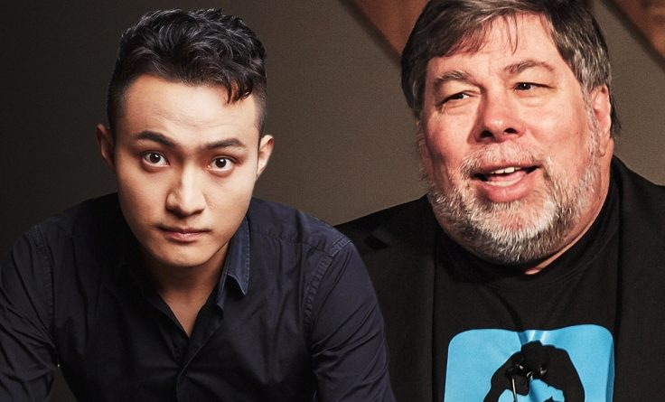 Justin Sun és Steve Wozniak