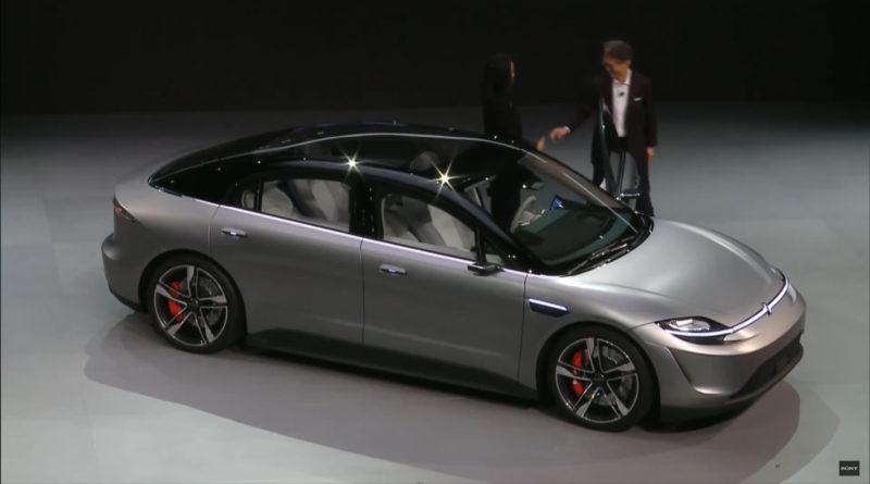A Sony bemutatta első elektromos autóját