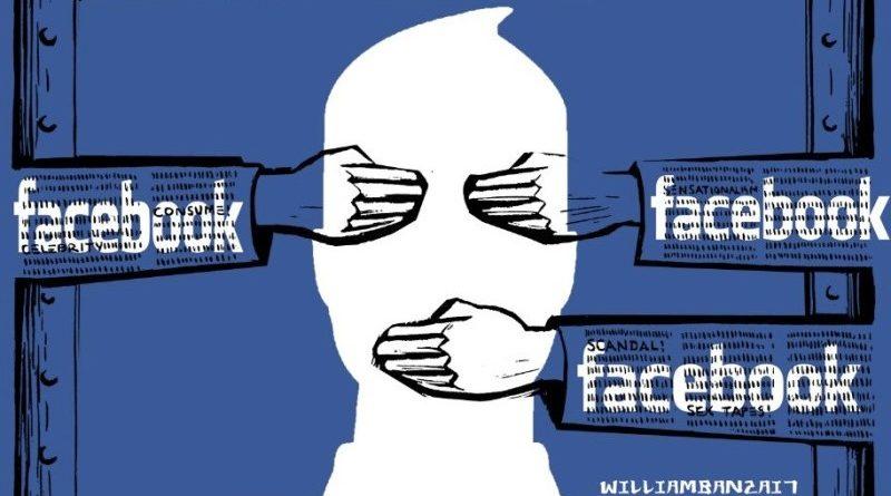 Facebook cenzúra