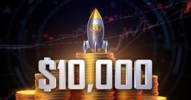 bitcoin 10000 dollár