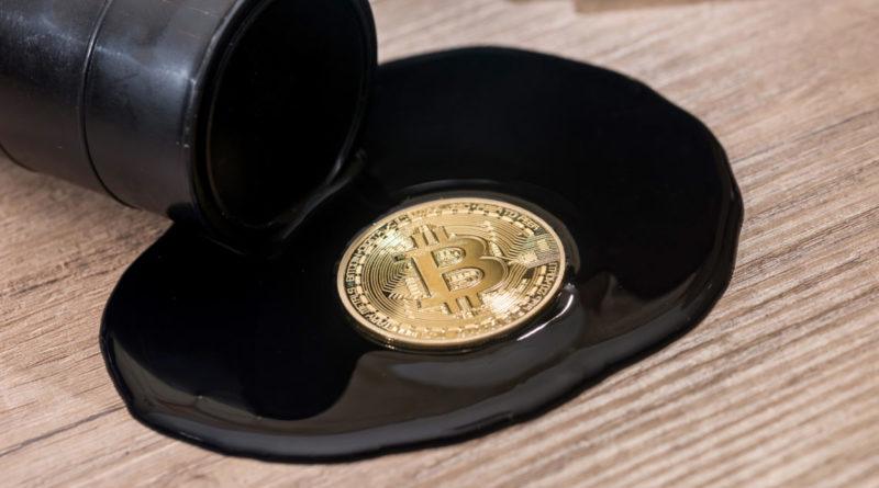 Az olaj ára jóval nagyobb áringadozást mutat, mint a bitcoin