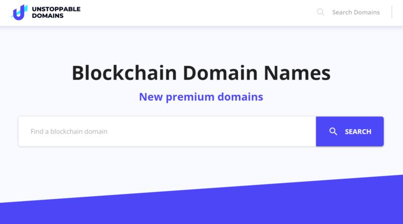 decentralizált blog Unstoppable Domains - Újdonság a láthatáron: itt vannak a blokklánc alapú domainek