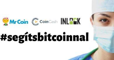 adomány koronavírus bitcoin