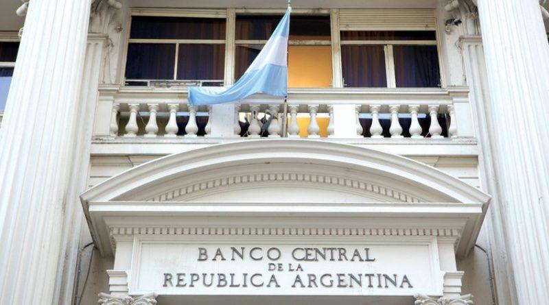 argentin központi bank főbejárata, Buenos Aires