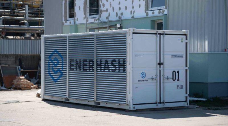 Enerhash - konténerbányászat