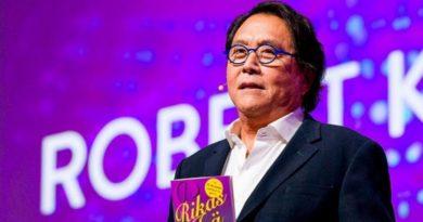 Robert Kiyosaki - Gazdag papa, szegény papa szerzője: a Bitcoin az emberek pénze