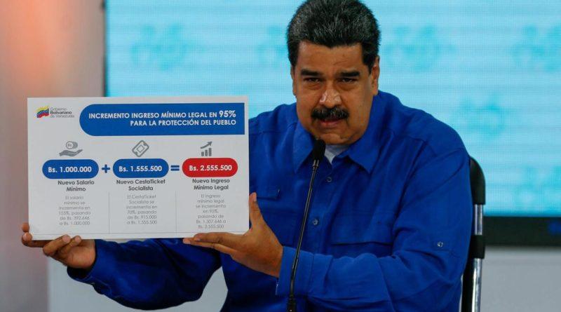 Nőtt Venezuelában a minimálbér, de elmarad a beígérttől