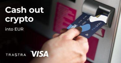 Azonnali eurós kifizetést és VISA-kártyát kínál a bitcoint és altcoinokat is támogató TRASTRA