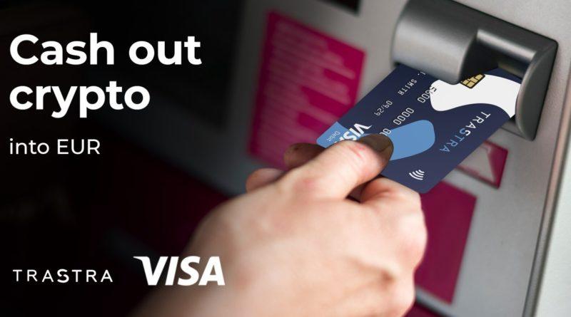 Azonnali eurós kifizetést és VISA kárty a bitcoint és altcoint is támogató TRASTRA tárcától