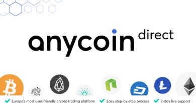 Új, innovatív platformot indít az Anycoin Direct
