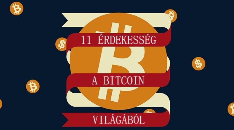 11 érdekesség a Bitcoin világából