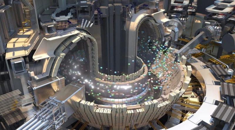ITER nukleáris fúzió reaktor