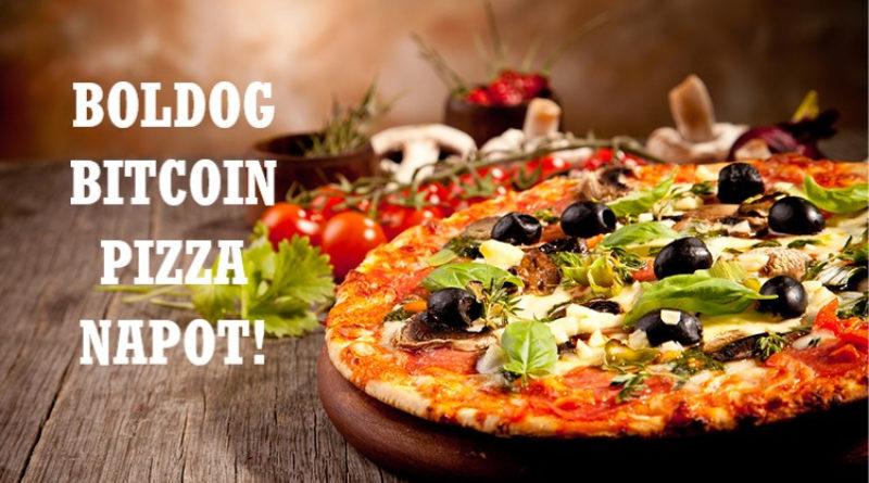 pizzát vásárolt bitcoinokért