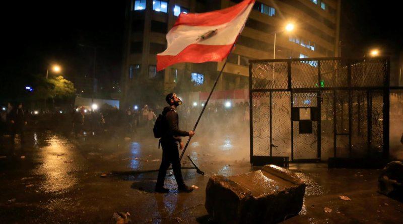 Libanoni hiperinfláció, megmozdulások