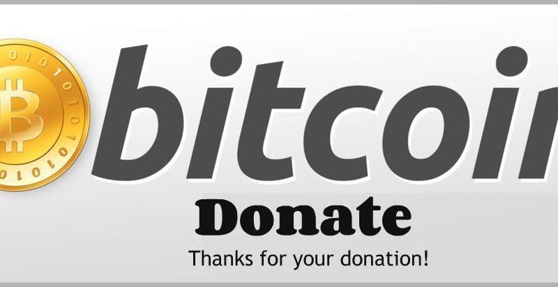 fogadjon bitcoin adományokat