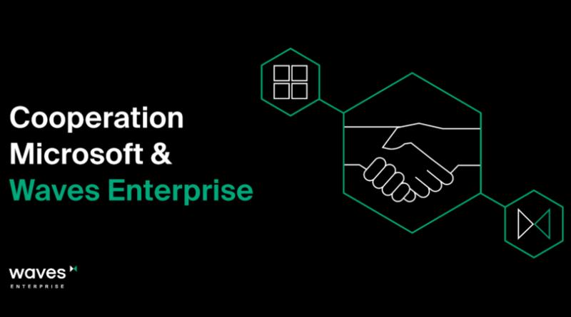 Partnerségre lépett a Waves Enterprise és a Microsoft